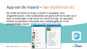 App van de Maand - van alcohol tot xtc2